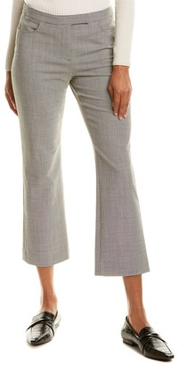 Theory Houndstooth Wool-Blend Pant