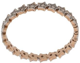 Kismet by Milka 14kt rose gold Full Star diamond ring