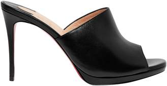 Christian Louboutin Pigamule 100 Leather Mules