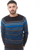 Duck and Cover Mens Turismo Sweater Black