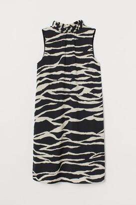 H&M Satin Dress - Beige