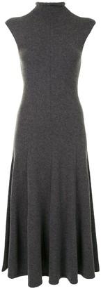 Polo Ralph Lauren High Neck Flared Knit Dress