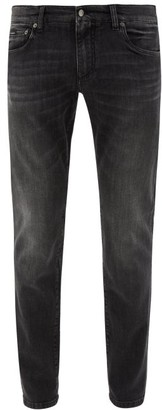 Dolce & Gabbana Stretch-denim Skinny Jeans - Grey