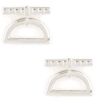Shop Lausanne Silver Half Moon Drop Earrings