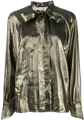 Forte Forte Metallic Sheen Blouse