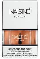 Nails Inc Kensington Caviar 45 Second Top Coat, 14ml