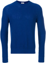 Valentino rib knit sweater - men - Cashmere - XS