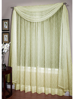"Bed Bath & Beyond Pintuck Voile 108"" Sheer Window Panel"