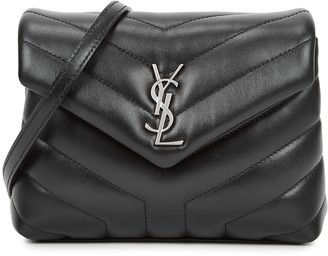 Saint Laurent Loulou Toy black leather cross-body bag
