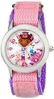 Disney Kids' W001933 Doc McStuffins Analog Display Analog Quartz Pink Watch