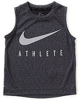 Nike Little Boys 4-7 Athlete Muscle Tee