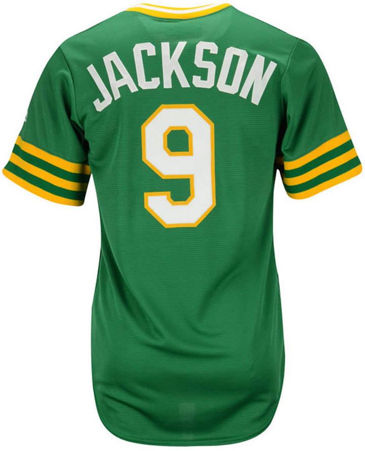 Majestic Reggie Jackson Oakland Athletics Cooperstown Replica Jersey