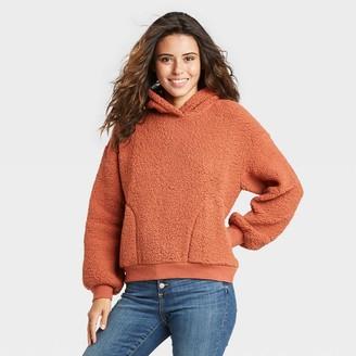 Universal Thread Women's Sherpa Hooded Sweatshirt - Universal ThreadTM