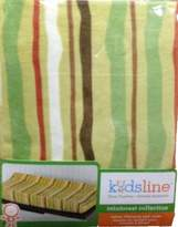 Kids Line Rainforest Velour Changing Pad Cover