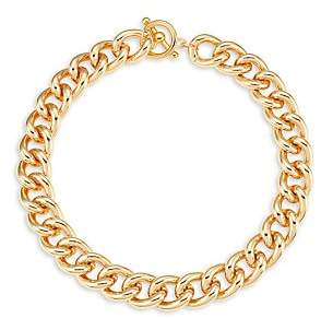 Kenneth Jay Lane Women's 22K Yellow Goldplated Chain Necklace