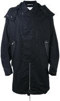 Oamc collared coat - men - Cotton/Linen/Flax - M