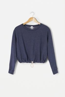 Urban Renewal Vintage Remade From Vintage Navy Bungee Sweatshirt - Blue M/L at Urban Outfitters
