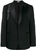 Alexander McQueen front fastening blazer