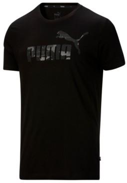 Puma Men's Essential Logo Camo T-Shirt