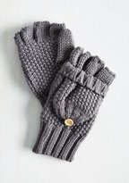 Ana Accessories Inc Saturday at the Stables Convertible Gloves in Grey