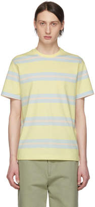 Noah NYC Yellow Stripe Boarder Summer T-Shirt