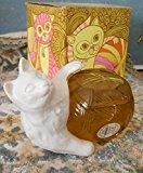 "Avon Kitten Petite Figural Miniature Cat Decanter ""Moonwind"" Cologne 1.5oz."