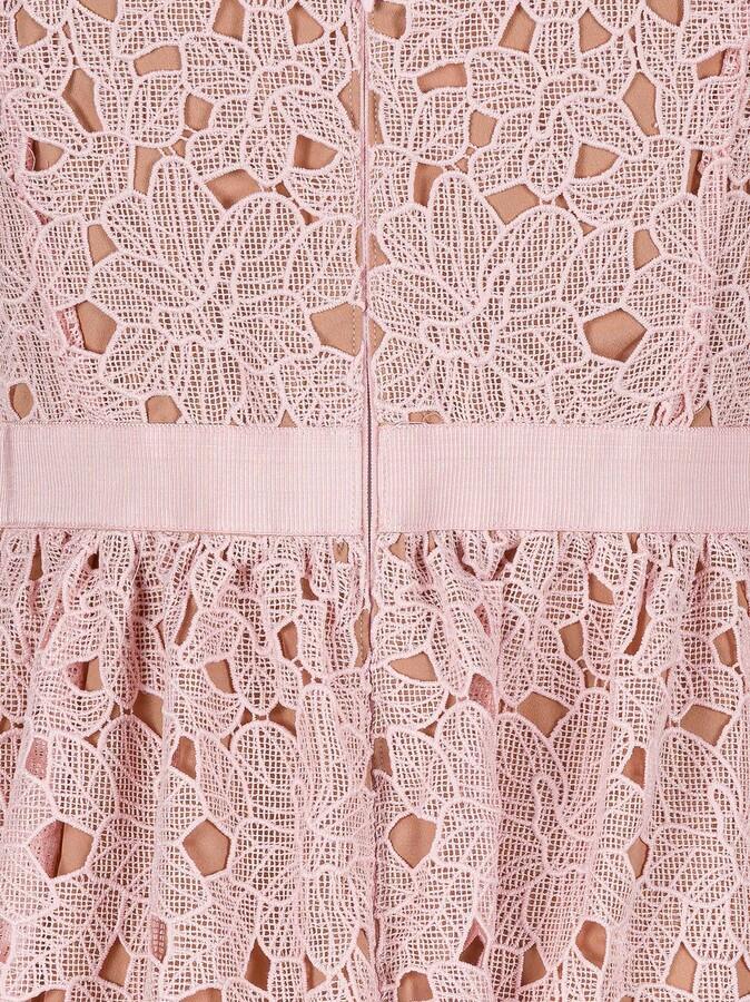 Thumbnail for your product : Self-Portrait Guipure Midi Dress