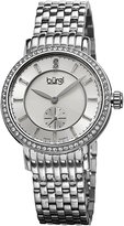 Burgi Women's BUR099SS Analog Display Swiss Quartz Watch