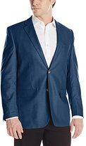 Perry Ellis Men's Waxed Linen Two-Button Sport Coat