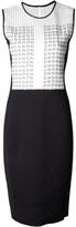 Reed Krakoff perforated panel dress