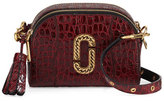 Marc Jacobs Shutter Small Crocodile-Embossed Camera Bag