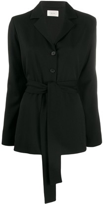 The Row Mel belted jacket