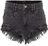 Isabel Marant Eneida fringed denim shorts
