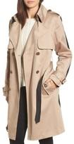 Trina Turk Women's Allison Two-Tone Trench Coat