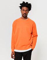 YMC Almost Grown Sweatshirt Orange