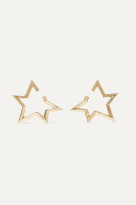 Jennifer Fisher Baby Classic Star Gold-plated Earrings - one size