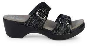Dansko Sophie Buckle Slip On Sandals