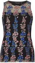 Dorothy Perkins Black Multi Floral Print Shell Top