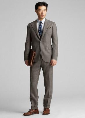 Ralph Lauren Windowpane Wool Suit Jacket