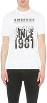 Armani Jeans City Logo-print Cotton-jersey T-shirt