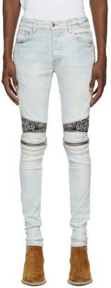 Amiri Blue Bandana MX2 Jeans