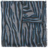 Furla zebra pattern scarf