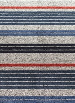Chilewich Shag mixed stripe door mat