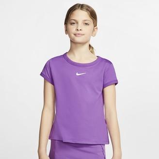 Nike Girls' Tennis Top NikeCourt Dri-FIT