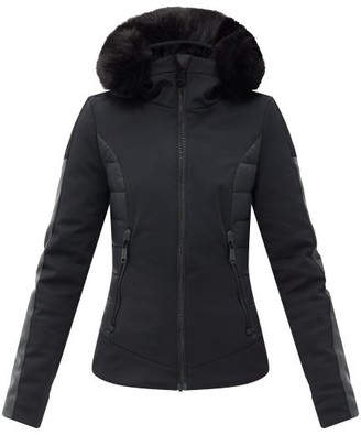 Goldbergh Kaja Faux Fur-trimmed Hood Down Ski Jacket - Black