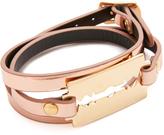 McQ by Alexander McQueen Alexander McQueen Razor Triple Wrap Bracelet