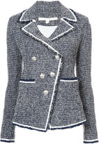 Veronica Beard double breasted tweed jacket