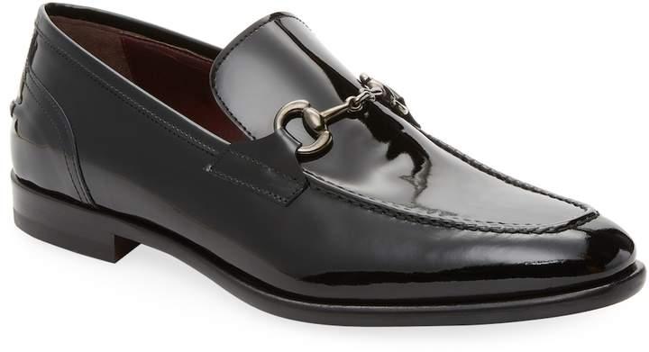 Antonio Maurizi Men's Leather Horsebit Loafer