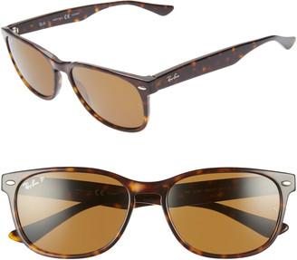 Ray-Ban 57mm Wayfarer Polarized Sunglasses