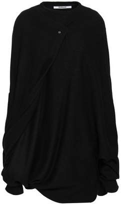Chalayan Cape Draped Wool Top